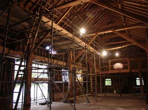listed building barn repairs
